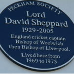 Lord David Sheppard Plaque