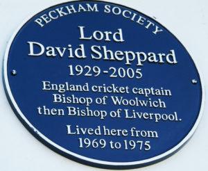 David Sheppard Plaque