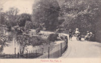 Peckham Rye Park - The Lake